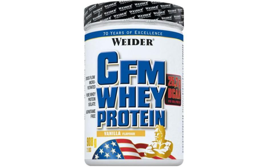 Weider, CFM Whey Protein, 908 g, vanilka