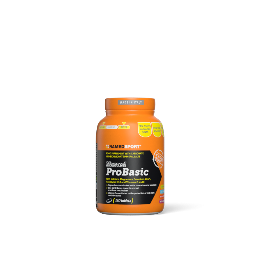 NAMEDSPORT ProBasic, potréninková regenerační směs, 120 tablet