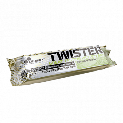 Olimp Twister High protein bar, tyčinka 30% bílkovin, 60g