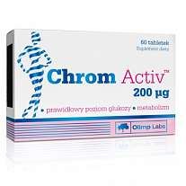 Olimp Chrom Activ, 60 tablet