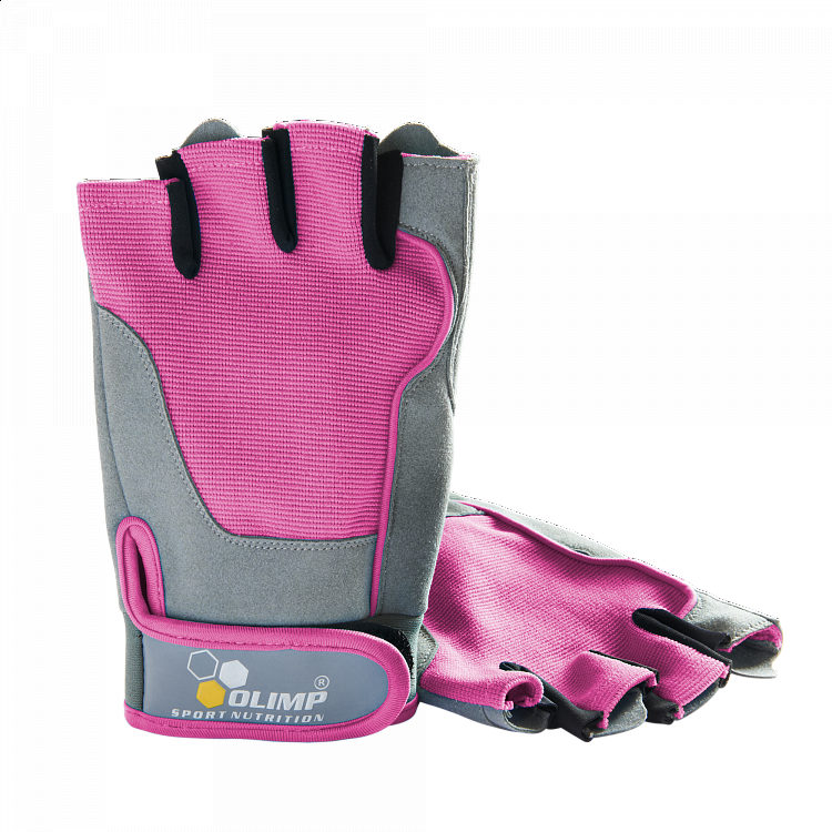 f54d666b764 Olimp Dámské rukavice Fitness One - Pink