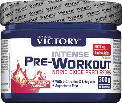 Weider, Intense PRE workout, 300g